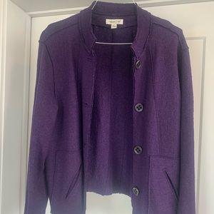 EUC Coldwater Creek wool jacket